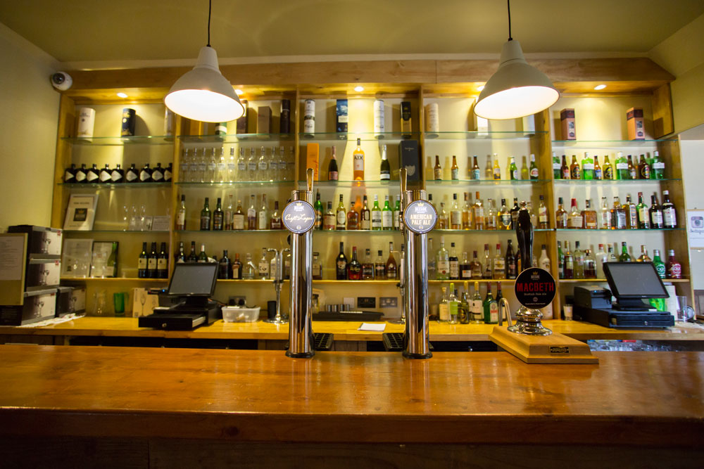 Logie Country House Bar, Wedding Venues Scotand