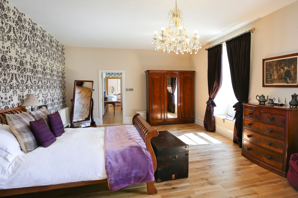 Logie Country House Master Suite, Wedding Venues Scotland