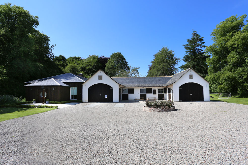 Logie Country House Privacy, Wedding Venues Scotland