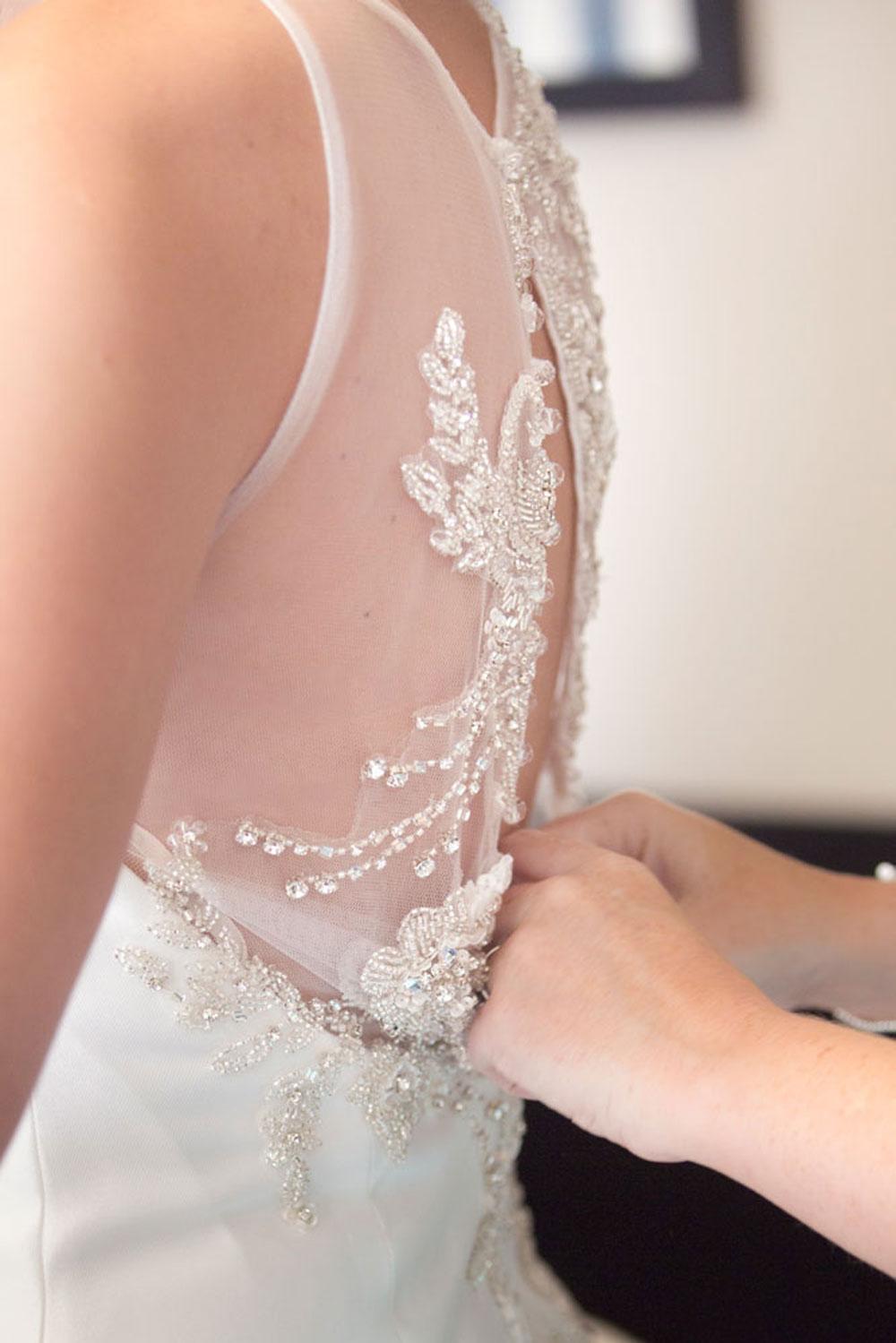Ardoe House Hotel Wedding, dress close up, Anna Wytrazek Photography, wedding photographer Aberdeen