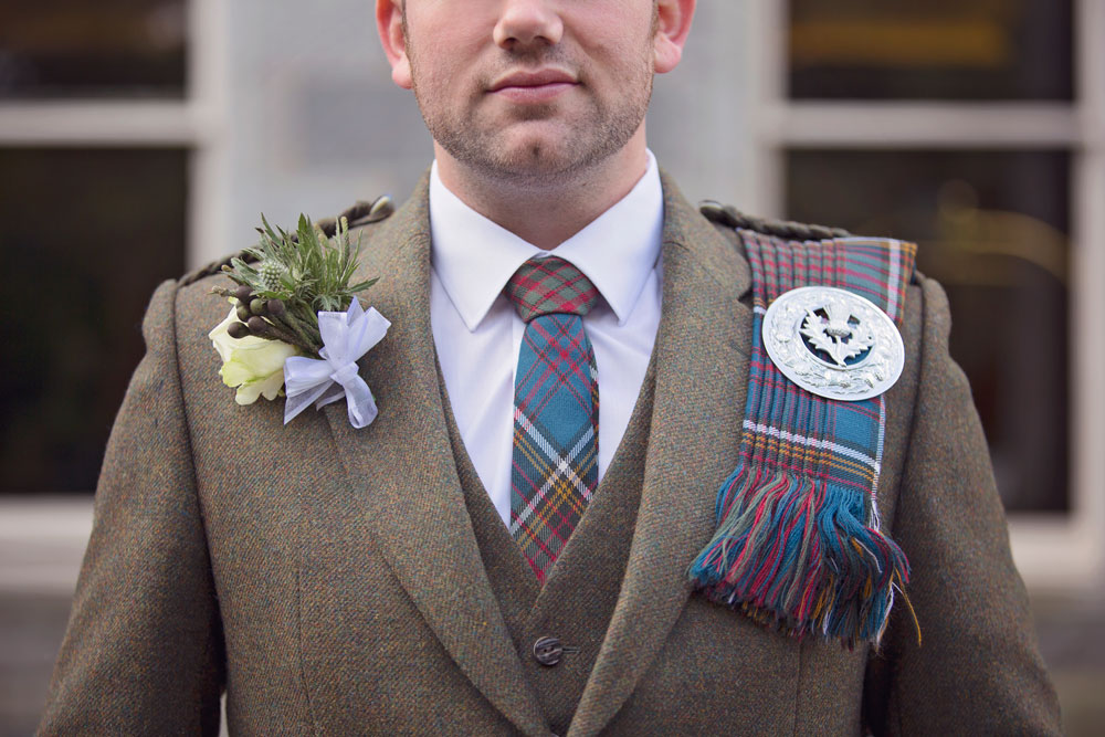 Ardoe House Hotel wedding, groom's outfit, Scottish wedding, Anna Wytrazek Photography, wedding photographer Aberdeen