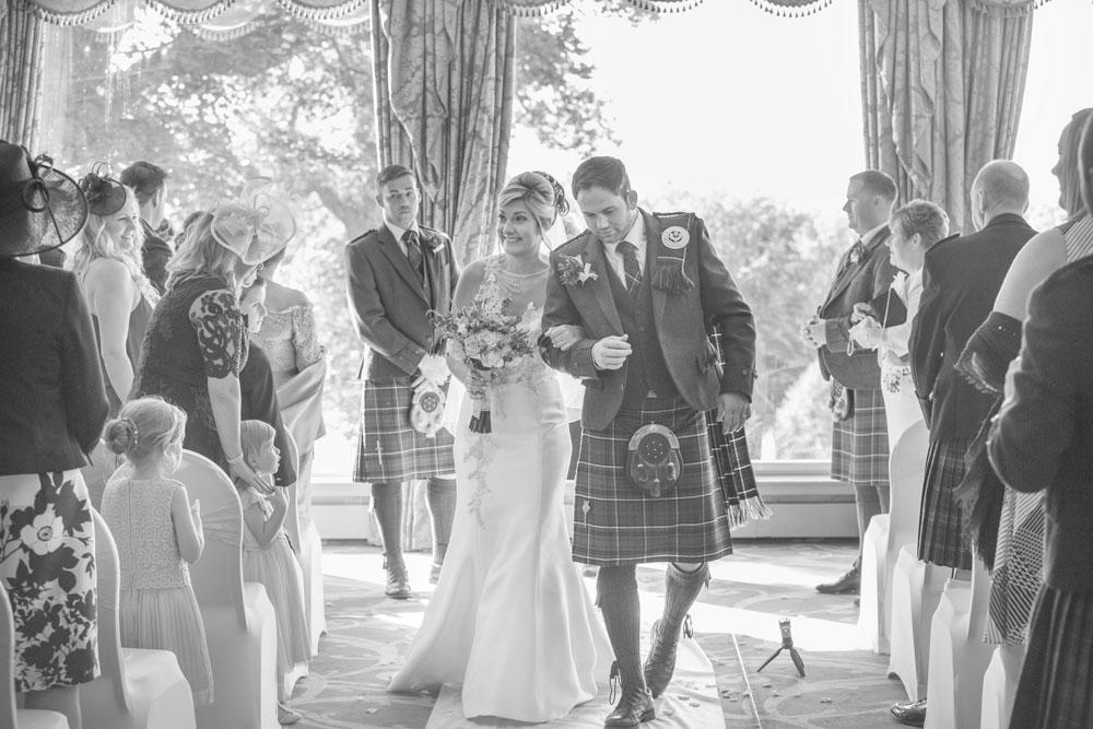 Ardoe House Hotel wedding, just married, Anna Wytrazek Photography, wedding photographer Aberdeen