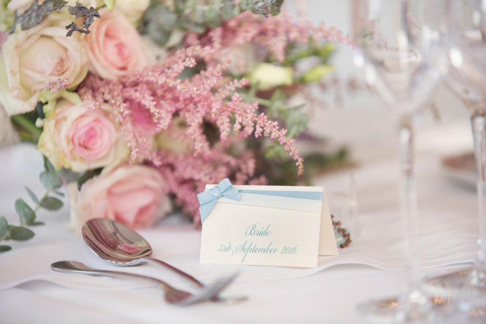 Ardoe House Hotel wedding, paper stationery, Anna Wytrazek Photography, wedding photographer Aberdeen