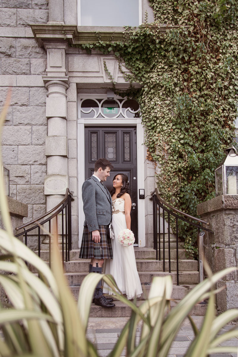Chester Hotel Wedding, Bride and Groom, Anna Wytrazek Photography, Wedding Photographer Aberdeen