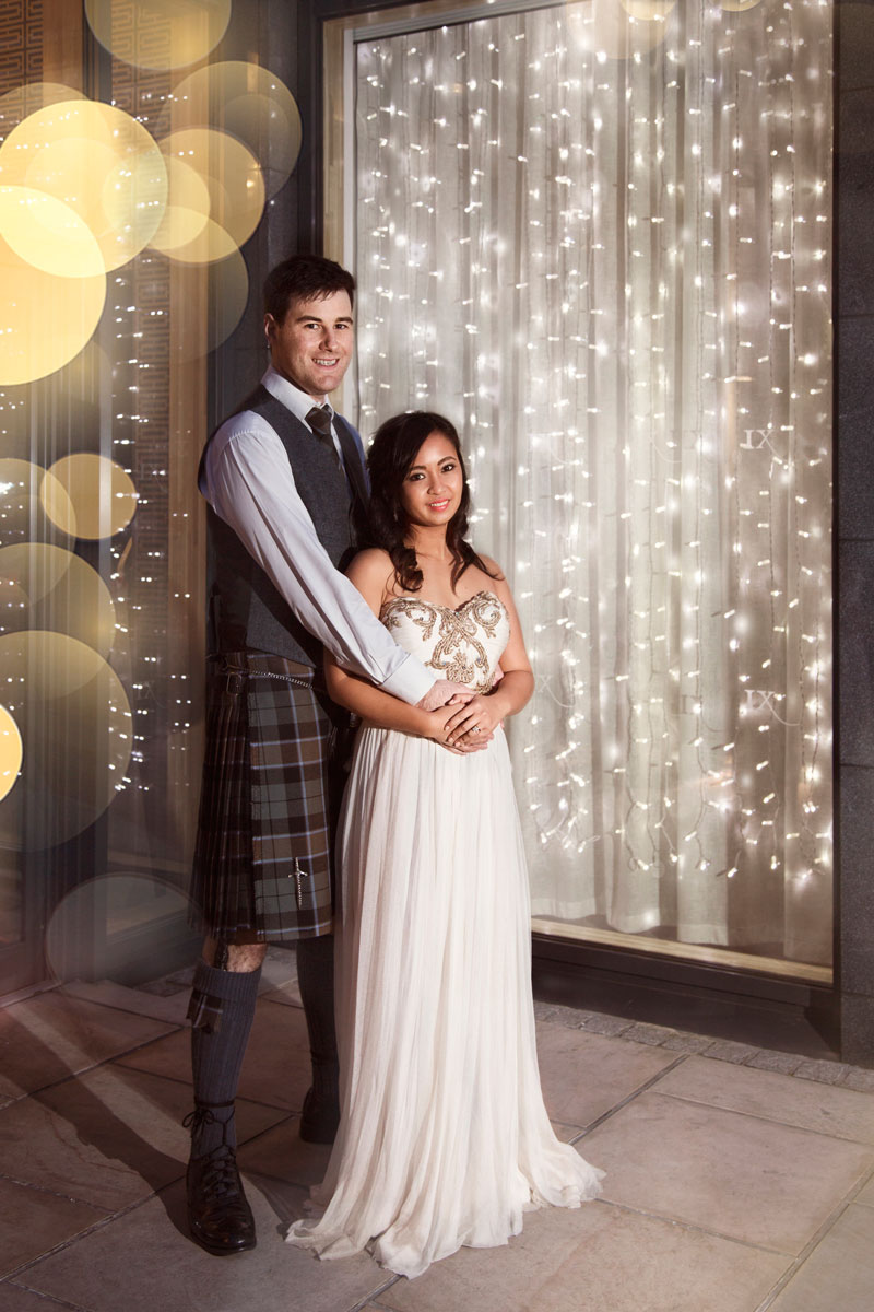 Chester Hotel Wedding, Bride and groom posing, Anna Wytrazek Photography, Wedding Photographer Aberdeen