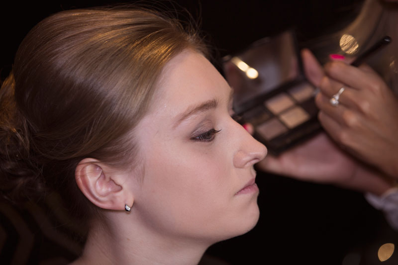 Chester Hotel Wedding, bridesmaid getting ready, Anna Wytrazek Photography, Wedding Photographer Aberdeen