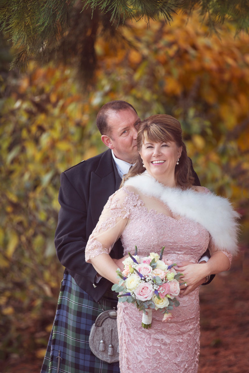 Thainstone House Hotel Wedding, Bride and Groom posing, Anna Wytrazek Photography, Wedding Photographer Aberdeen