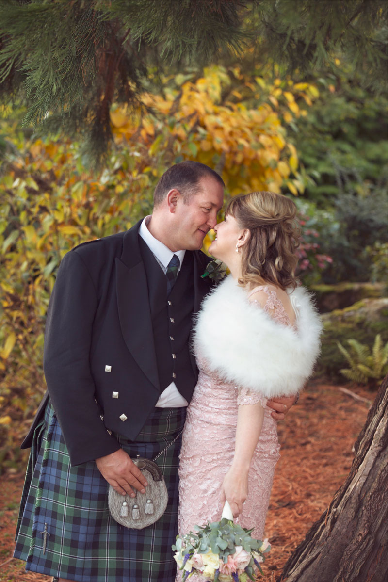 Thainstone House Hotel Wedding, Couple is looking at each other, Anna Wytrazek Photography, Wedding Photographer Aberdeen