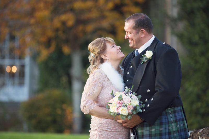 Thainstone House Hotel Wedding, Happy Couple, Anna Wytrazek Photography, Wedding Photographer Aberdeen