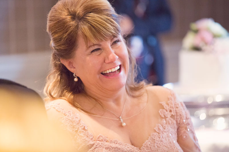 Thainstone House Hotel Wedding, happy bride, Anna Wytrazek Photography, Wedding Photographer Aberdeen