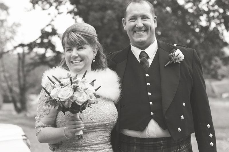 Thainstone House Hotel Wedding, just married, Anna Wytrazek Photography, Wedding Photographer Aberdeen