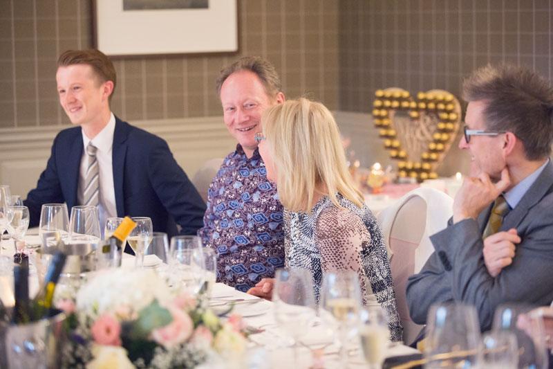 Thainstone House Hotel Wedding, wedding guests, Anna Wytrazek Photography, Wedding Photographer Aberdeen