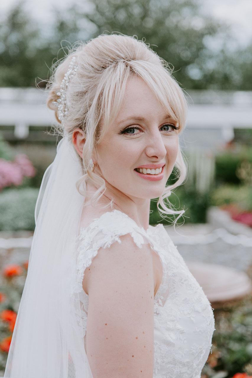 Anna Wytrazek Photography, Wedding Photographer Aberdeen, Bride at Duthie Park