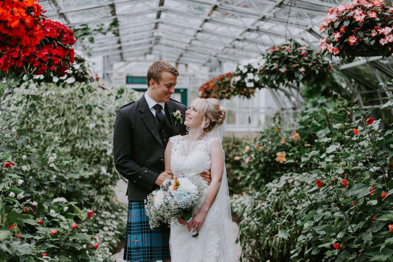 Anna Wytrazek Photography, Wedding photographer Aberdeen, Winter Gardens