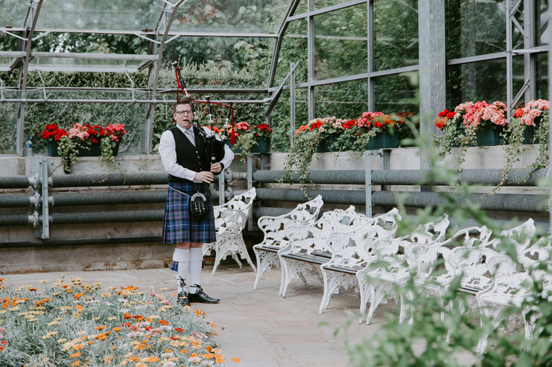 Duthie Park Winter Gardens wedding, Piper, Anna Wytrazek Photography, Wedding Photographer Aberdeen