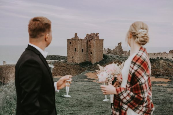 Wedding photographer Aberdeen, Anna Wytrazek Photography, Dunnottar Castle