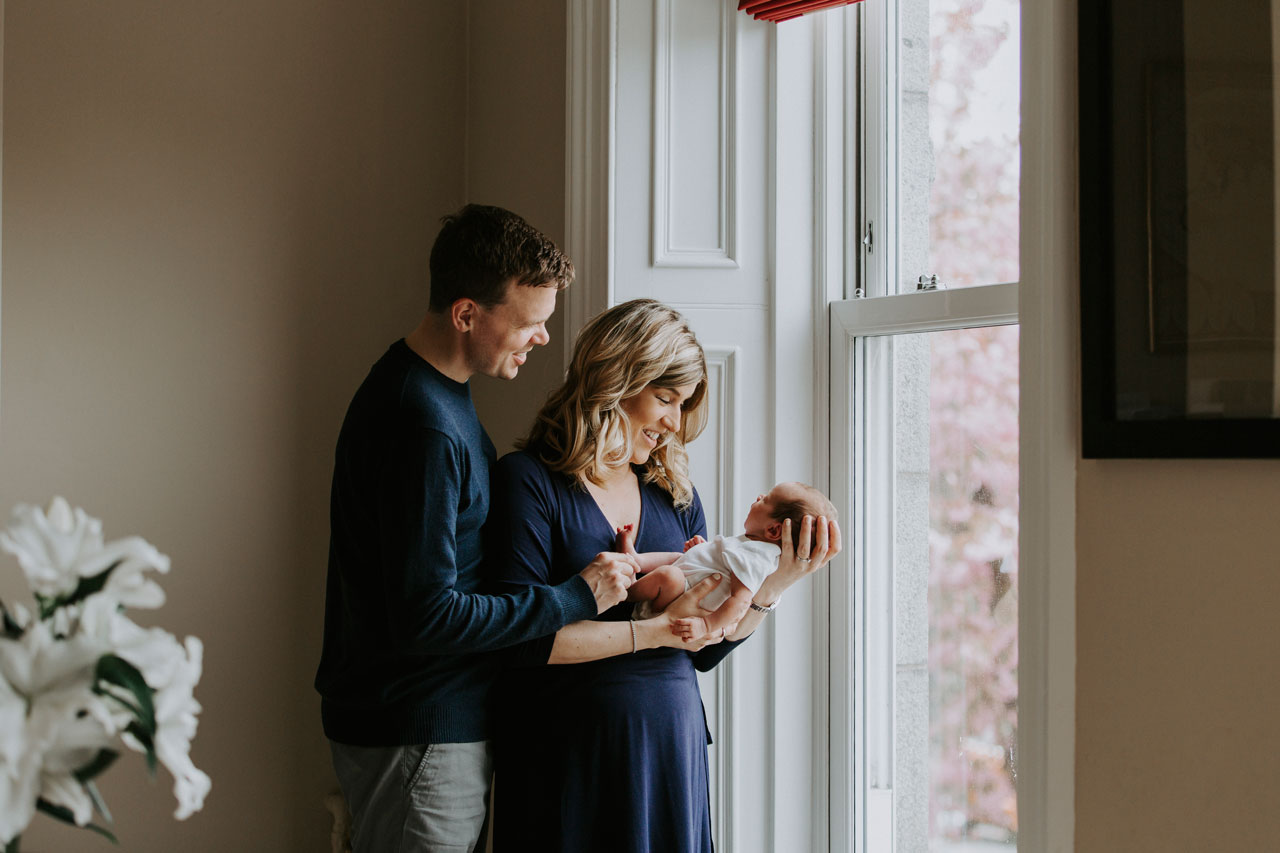 At Home photography session, newborn, Anna Wytrazek Photography