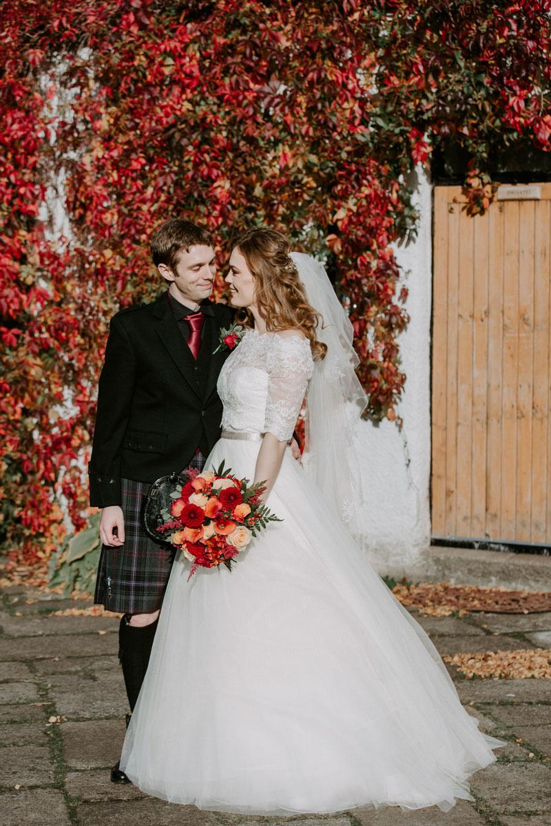 Logie Country House Wedding, Autumn Wedding, Anna Wytrazek Photography, Wedding Photographer Aberdeen