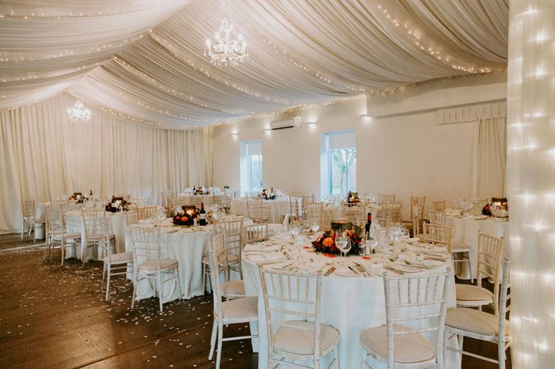 Logie Country House Wedding, Ballroom Decoration, Anna Wytrazek Photography, Wedding Photographer Aberdeen