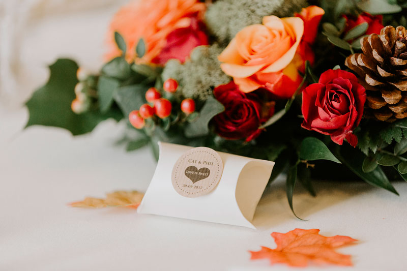 Logie Country House Wedding, Cat and Phil, Flowers, Anna Wytrazek Photography