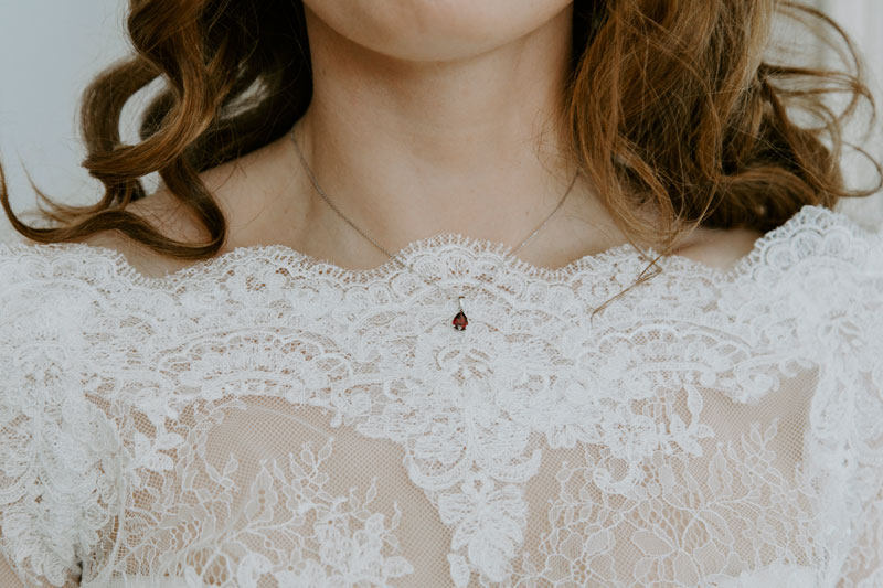 Logie Country House Wedding, Details on the dress, Anna Wytrazek Photography, Wedding Photographer Aberdeen