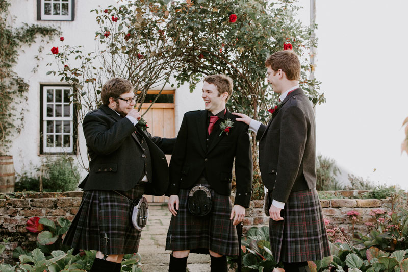 Logie Country House Wedding, Groom and the best man, Anna Wytrazek Photography, Wedding Photographer Aberdeen
