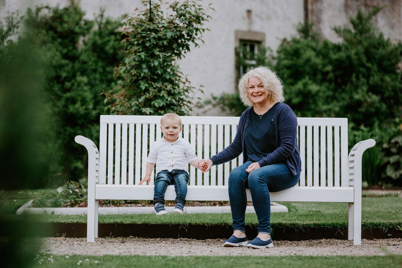 Anna Wytrazek Photography Baby Photography Edinburgh Mom and Son