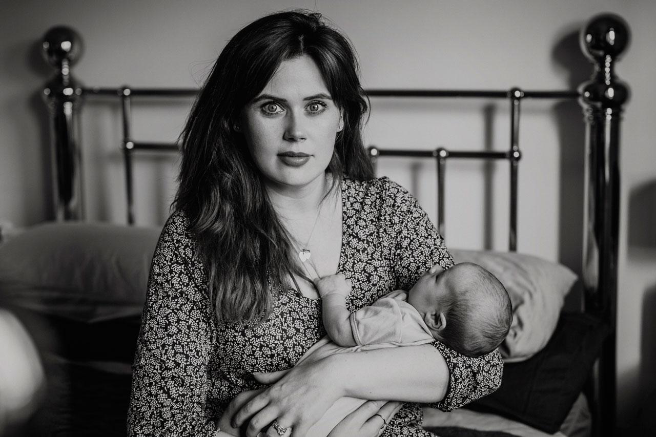 Anna Wytrazek Photography Newborn photography Edinburgh at home session