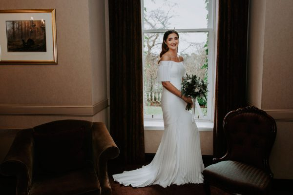 Edinburgh Wedding Photographer Anna Wytrazek Photography Bride
