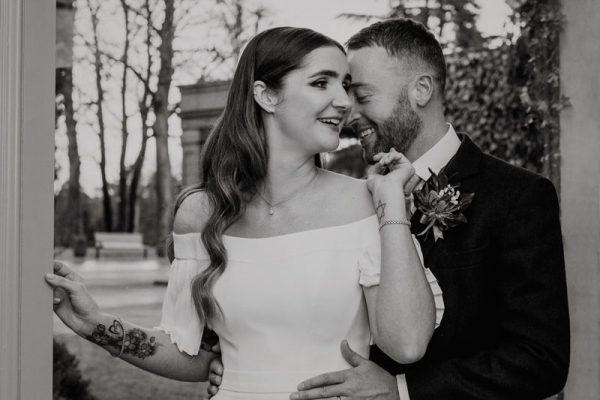 The Marcliffe Hotel wedding Anna Wytrazek Photography Wedding Photographer Edinburgh Wedding portrait
