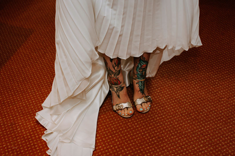 The Marcliffe Hotel wedding Anna Wytrazek Photography Wedding Photographer Edinburgh inked