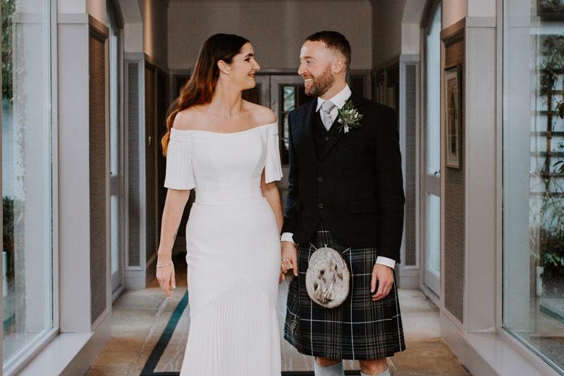 The Marcliffe Hotel wedding Anna Wytrazek Photography Wedding Photographer Edinburgh photo session
