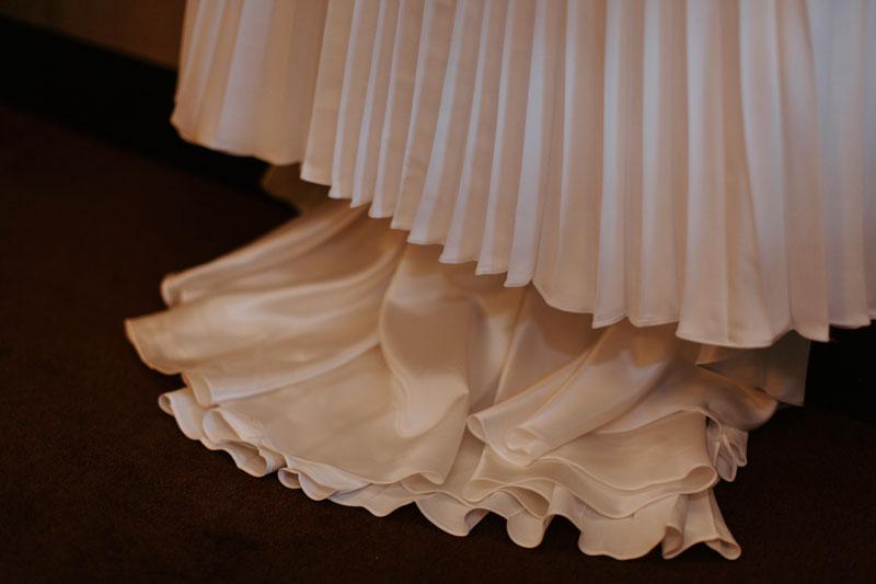 The Marcliffe Hotel wedding Anna Wytrazek Photography Wedding Photographer Edinburgh wedding dress
