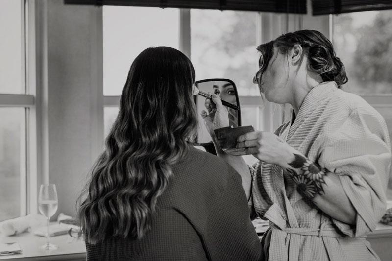 The Marcliffe Hotel wedding Anna Wytrazek Photography Wedding Photographer Edinburgh wedding makeup